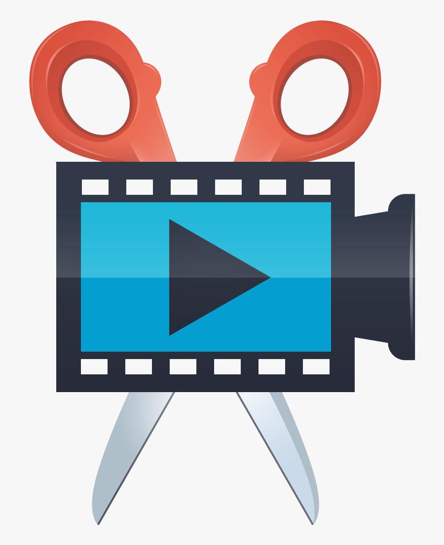 Movavi Screen Capture Studio - Video Edit Logo Png, Transparent Clipart