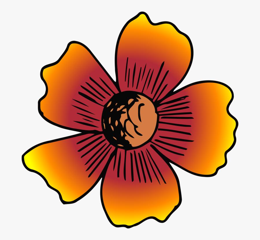 Plant,flower,symmetry - Flower, Transparent Clipart