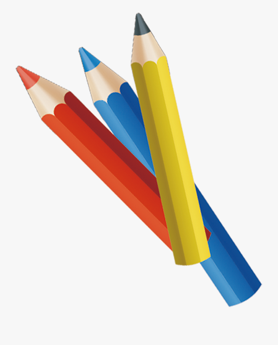 Colored Pencil Drawing - Clipart Colored Pencil Png, Transparent Clipart