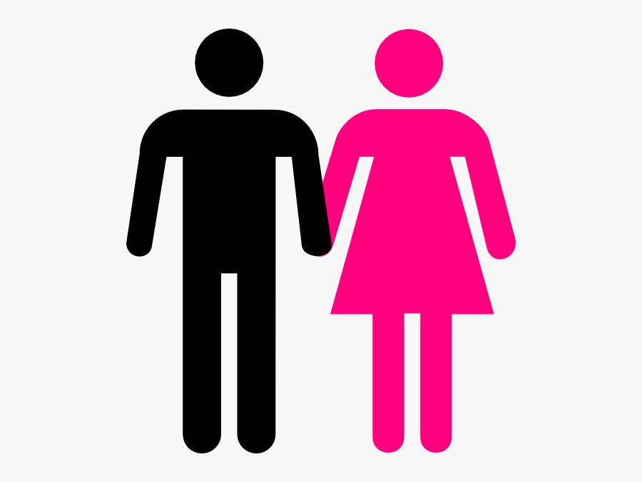 Stick Men And Women, Transparent Clipart