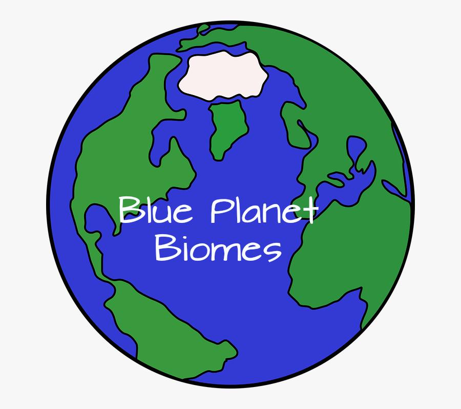 Cartoon Planet Earth Clipart , Png Download - Cartoon Globe, Transparent Clipart