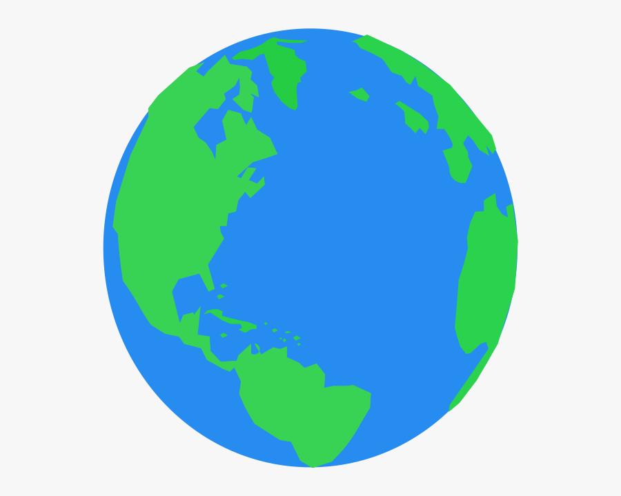 Planet Earth Clipart , Png Download - World Flat Icon Png, Transparent Clipart