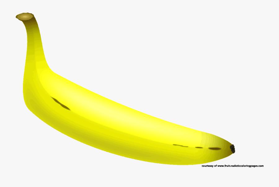 Transparent Banana Split Clipart - Saba Banana, Transparent Clipart