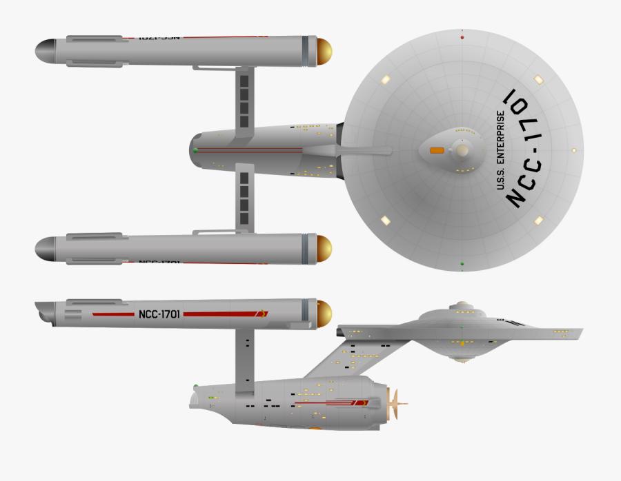 Uss Enterprise Ncc 1701, Transparent Clipart