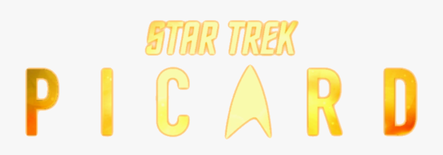 Transparent Starship Enterprise Clipart - Star Trek Picard Logo Png, Transparent Clipart