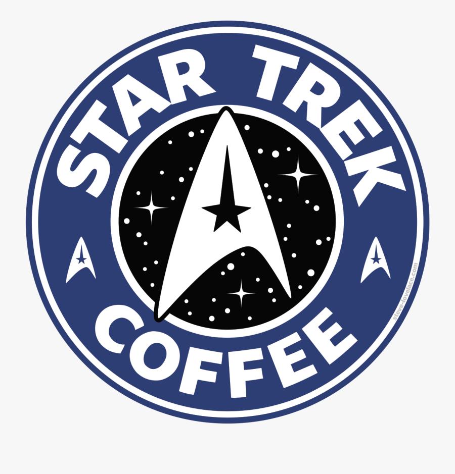 Star Trek Bucks Coffee - Star Trek Coffee Logo, Transparent Clipart