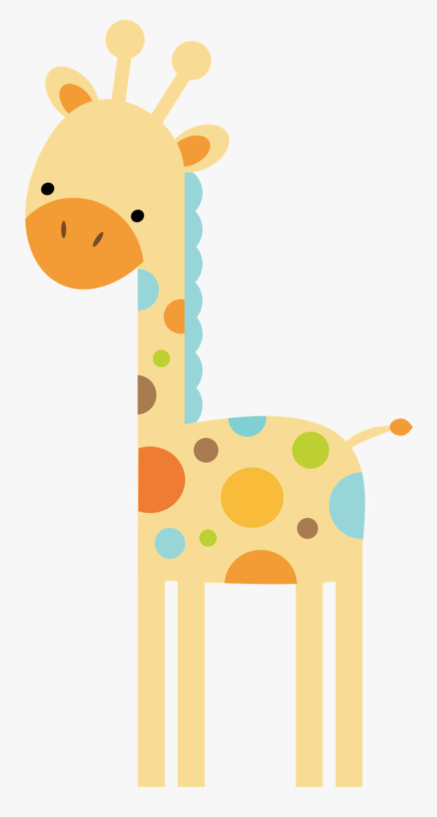 Transparent Giraffe Clip Art - Hard Baby Shower Games Animal, Transparent Clipart