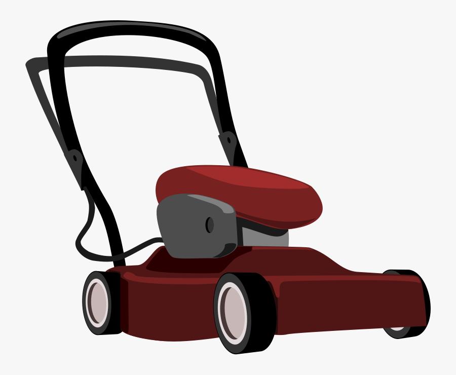 Clip Art , Png Download - Green Cartoon Lawn Mower, Transparent Clipart