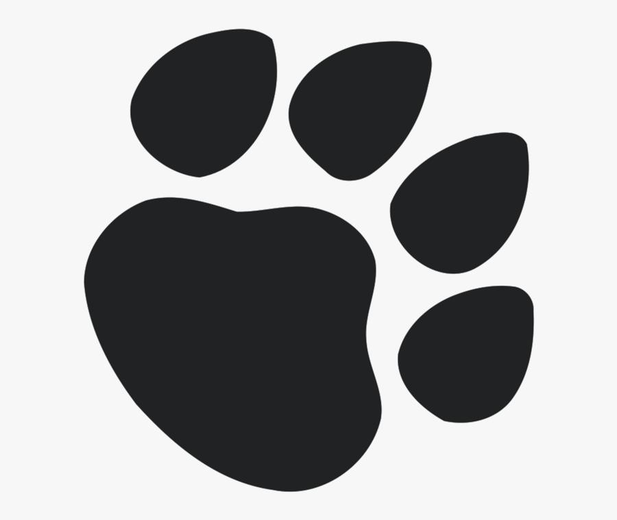 Paw Print T-shirt - Dog Paw Print Free Vector, Transparent Clipart