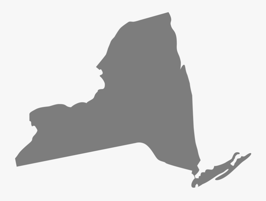 New York State Silhouette At Getdrawings - New York State Silhouette Png, Transparent Clipart