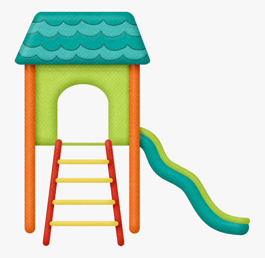 Playground House Clipart, Transparent Clipart