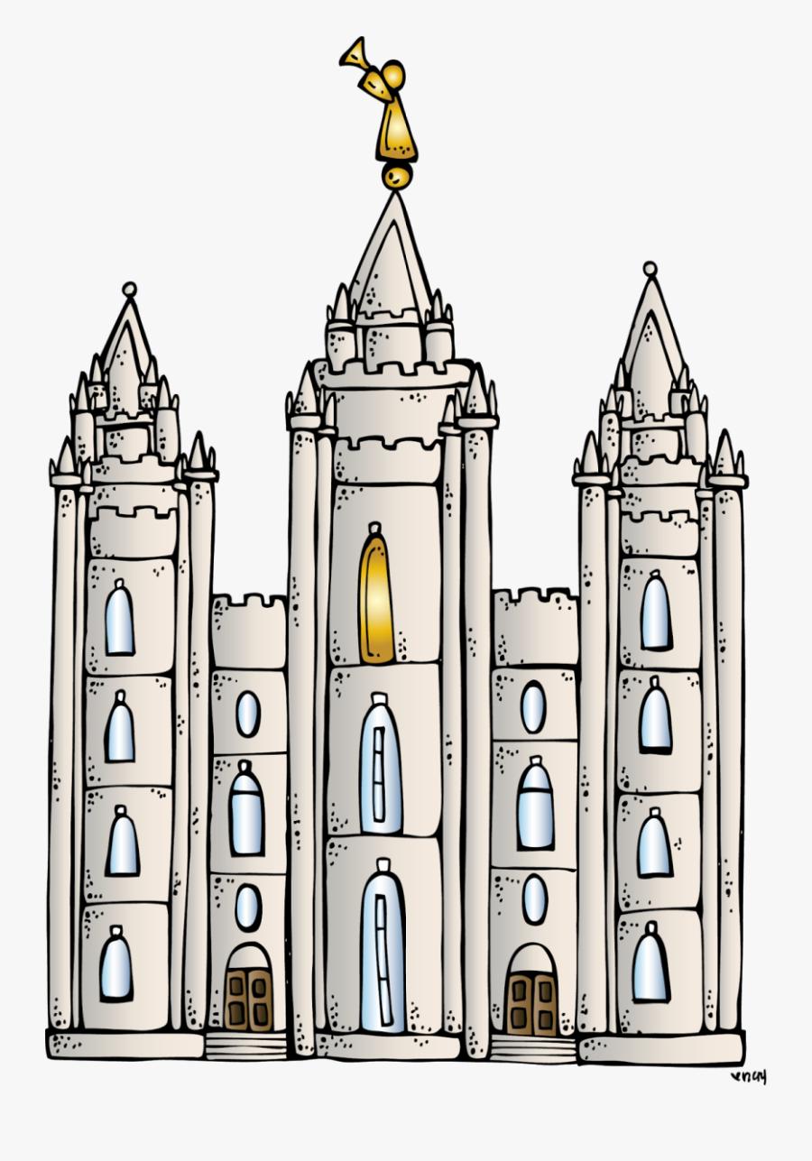 Clipart Temple Lds - Lds Clip Art Temple, Transparent Clipart