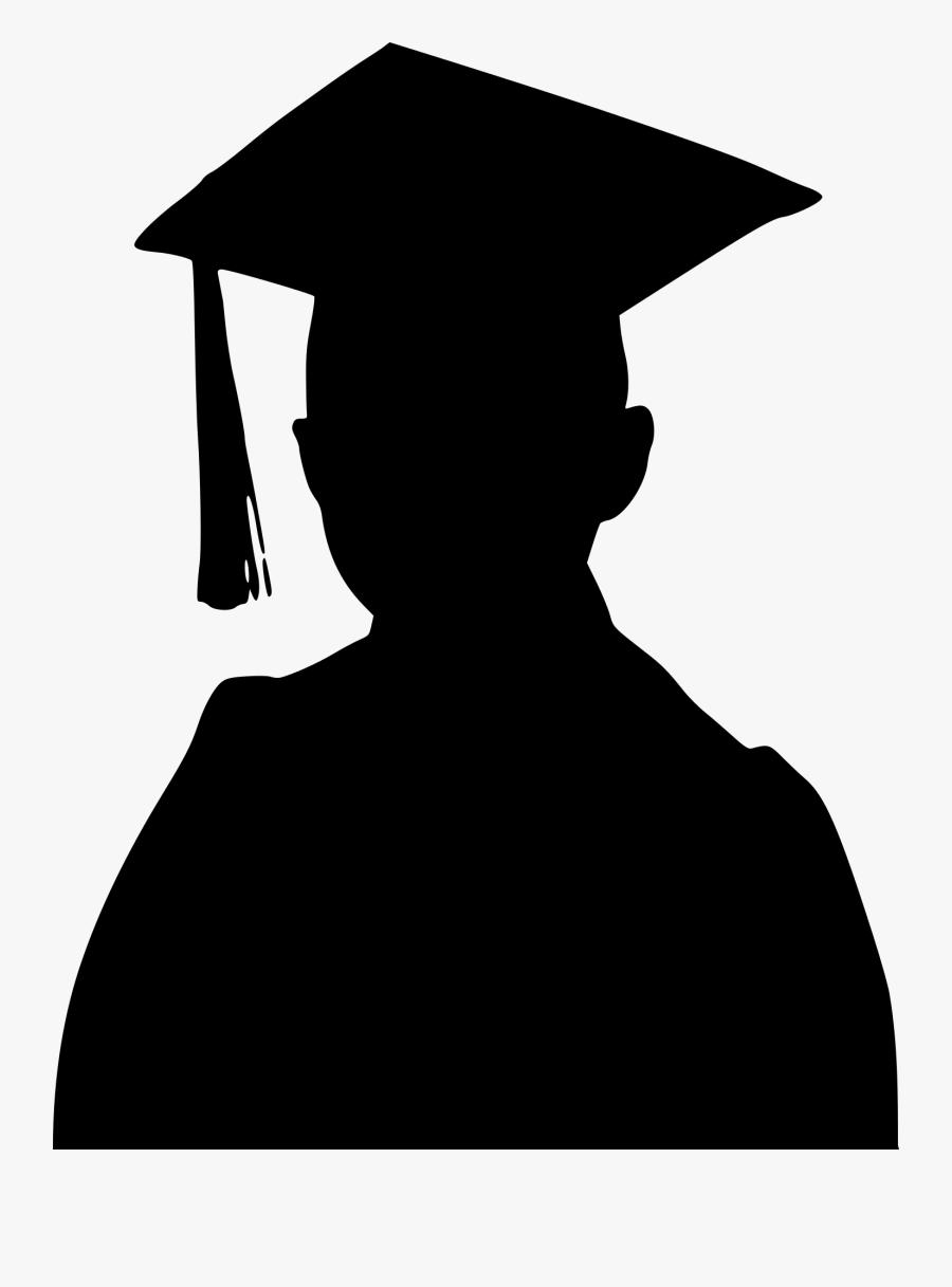 Graduation Ceremony Student Vector Graphics Graduate - Silhouette Graduation Boy, Transparent Clipart
