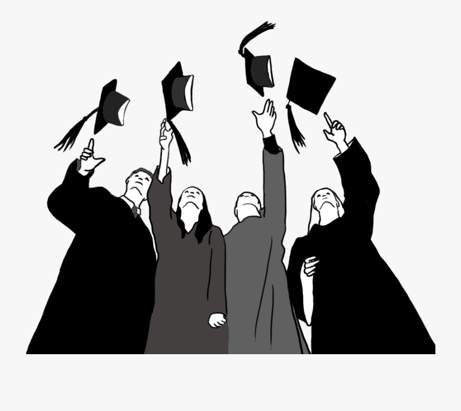Graduation Ceremony Square Academic Cap Clip Art Graduate - Transparent Graduation Clip Art, Transparent Clipart