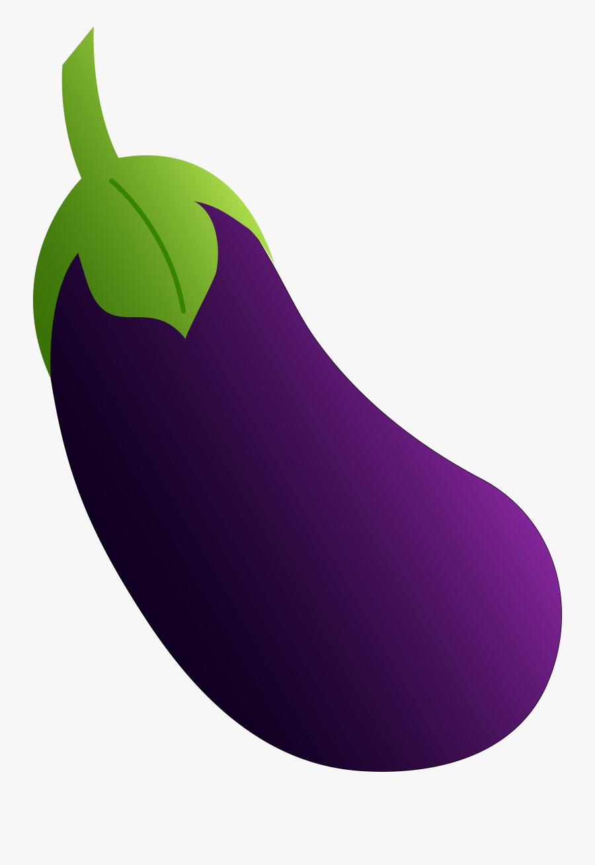 Purple Eggplant Clipart, Transparent Clipart