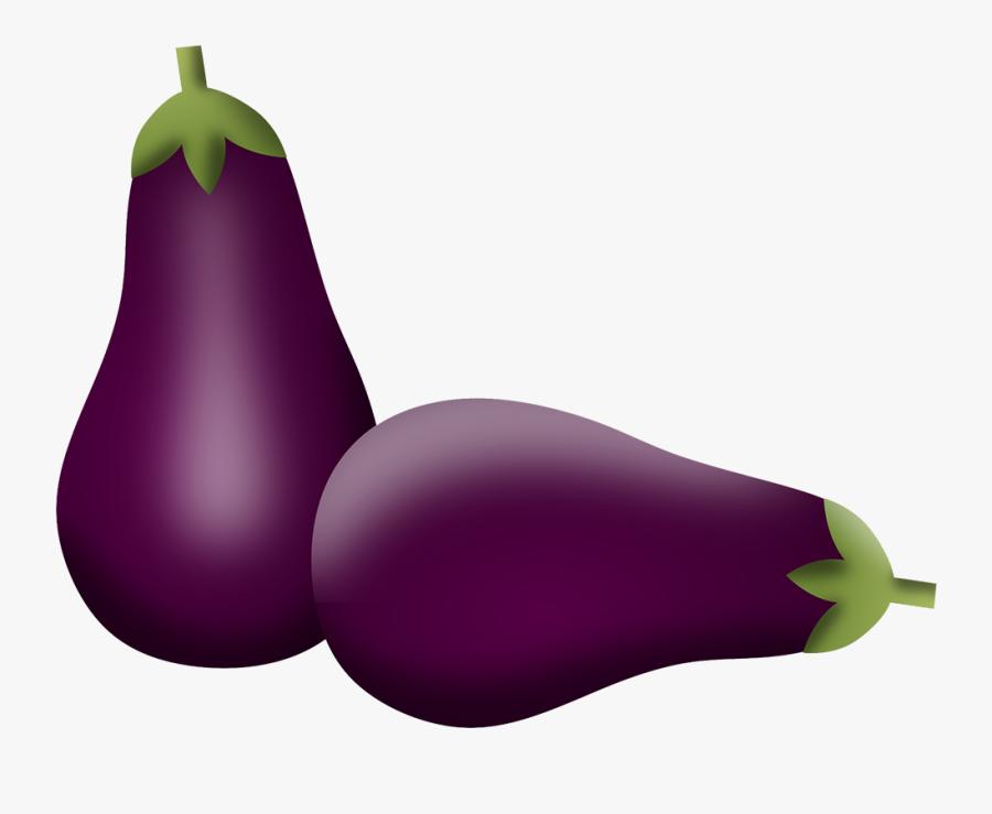 Duas Beringelas - Eggplant, Transparent Clipart