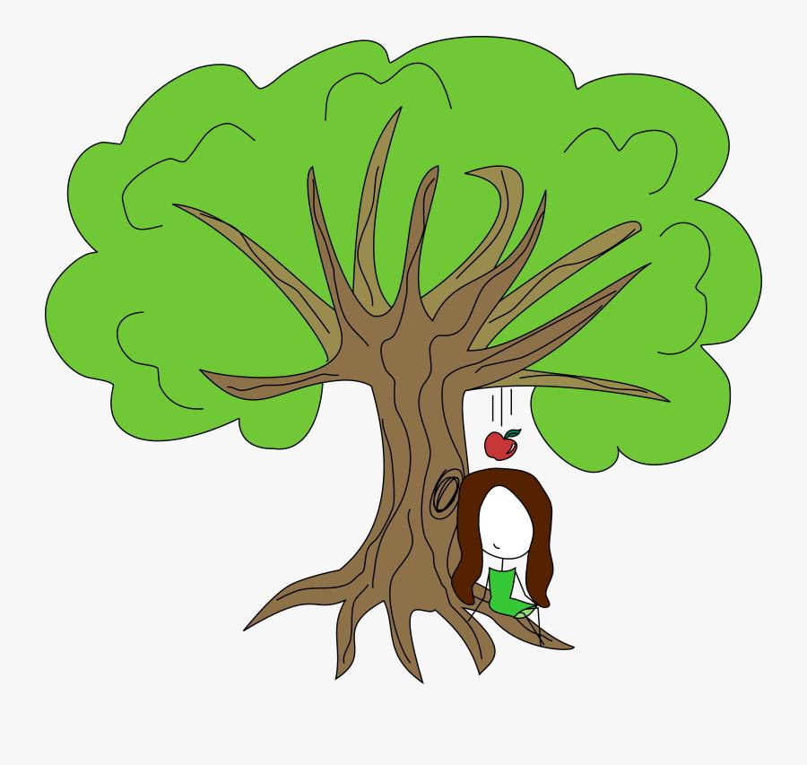 Newton Apple - عکس کارتونی درخت, Transparent Clipart