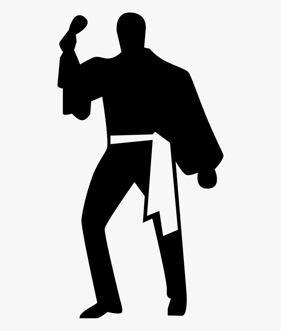 Flamenco Male Dancer Comments - Dance, Transparent Clipart