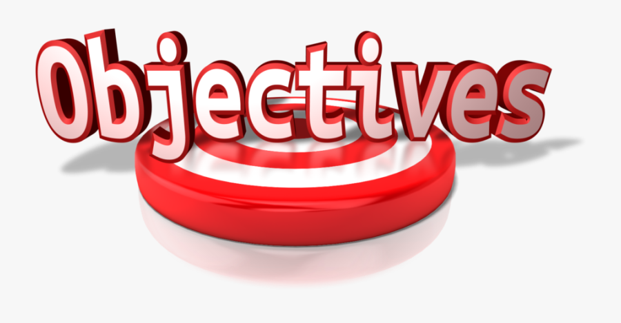 Objectives Word, Transparent Clipart