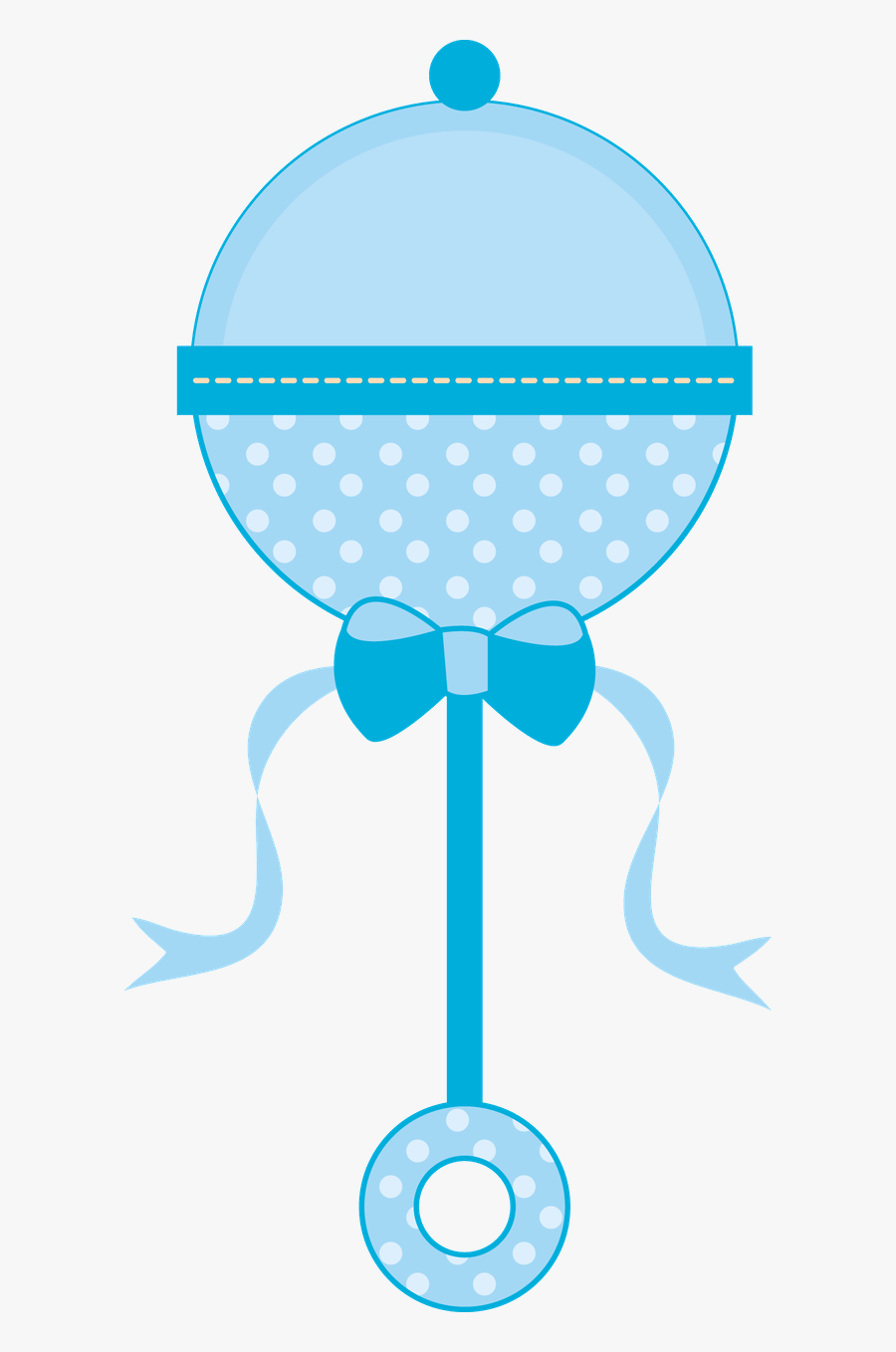 Pink Baby Rattle Png, Transparent Clipart