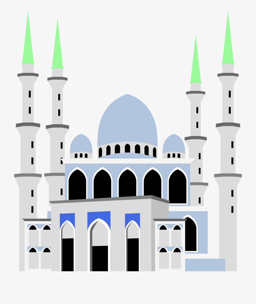 Ahmad Shah Kuantan Big - Masjid Sultan Ahmad Shah Kuantan Png, Transparent Clipart