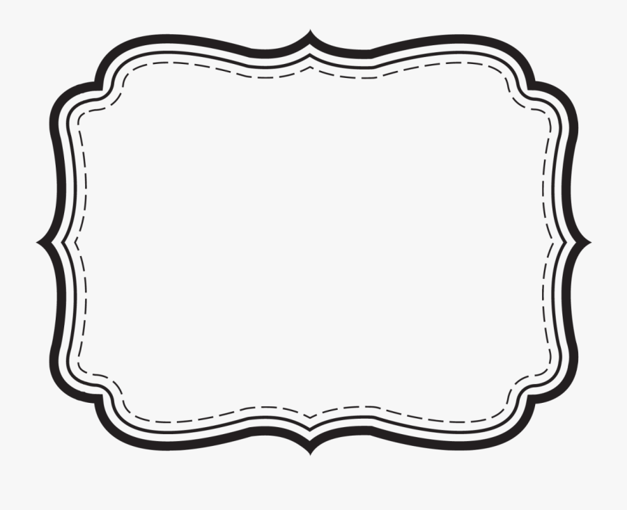 Borders And Backgrounds - Clipart Black And White Tags, Transparent Clipart