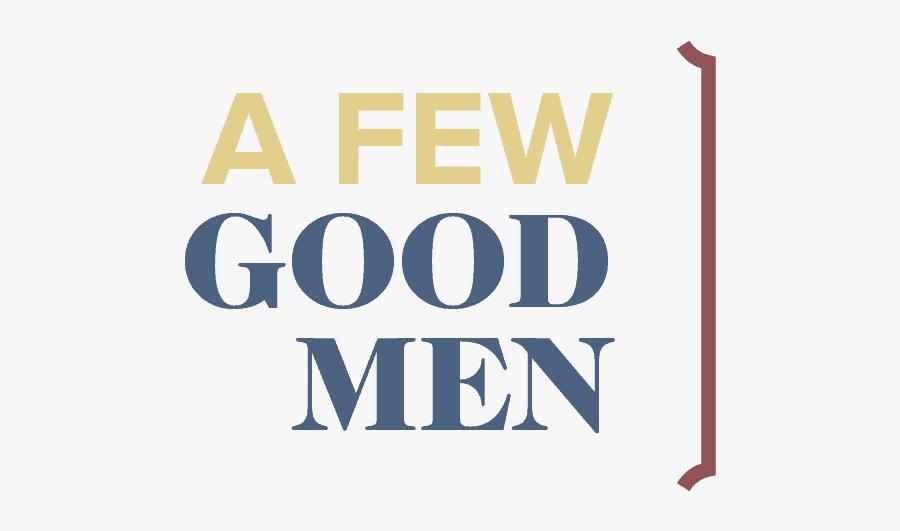 Few Good Men Logo, Transparent Clipart