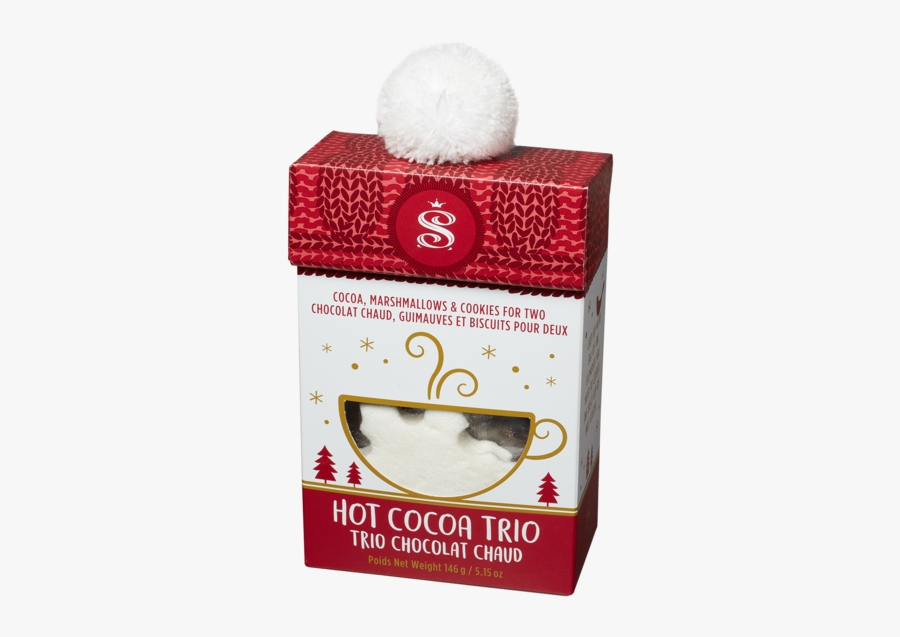 Hot Cocoa Trio Box - Box, Transparent Clipart