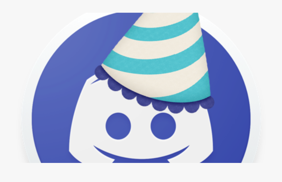 Transparent New Years Party Hat Png - Discord Anniversary, Transparent Clipart