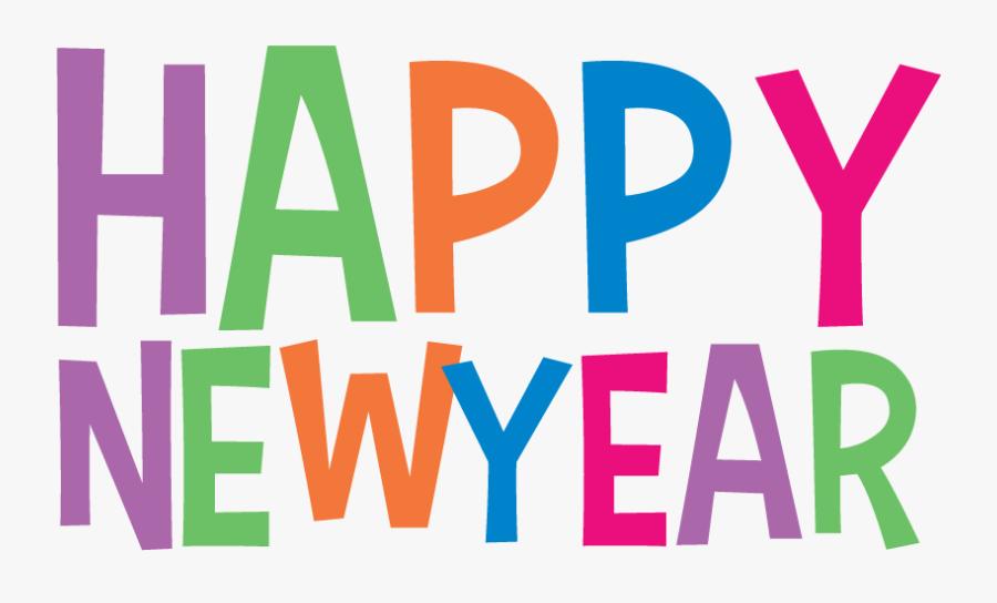 Happy New Year Clip Art Transparent, Transparent Clipart