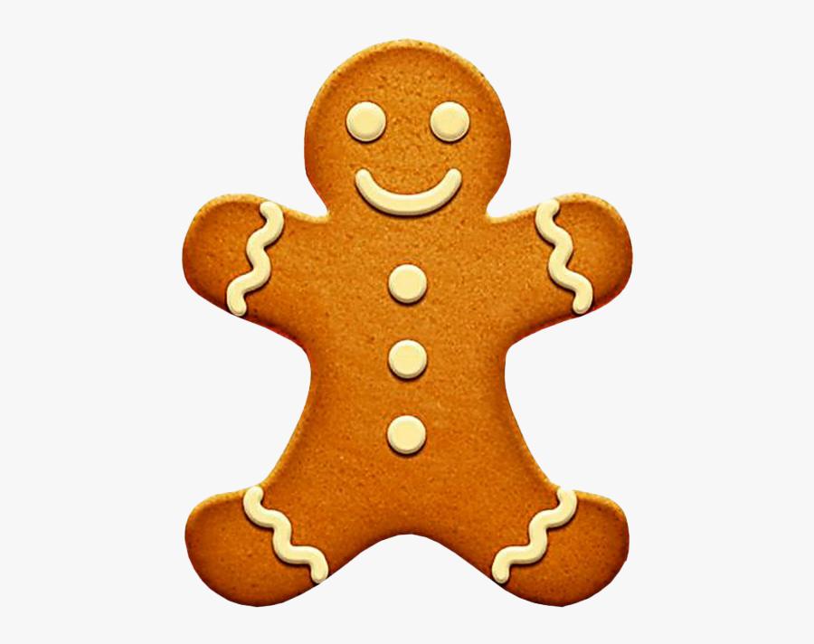 Gingerbread Man Png Image - Gingerbread Man Graphic Design, Transparent Clipart