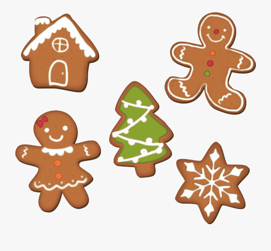 Gingerbread Background Png - Gingerbread Man Decorating Clipart, Transparent Clipart