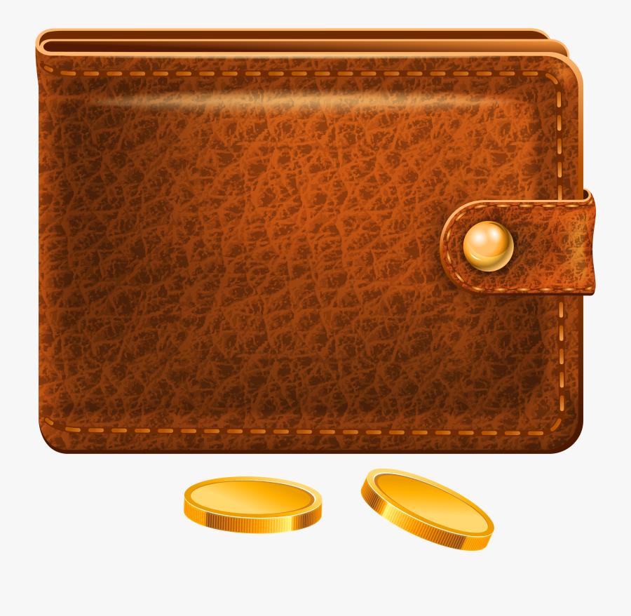Wallet Leather Clip Art - Wallet Clipart Png, Transparent Clipart