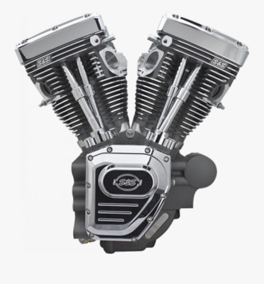 Harley Davidson V Motor, Transparent Clipart