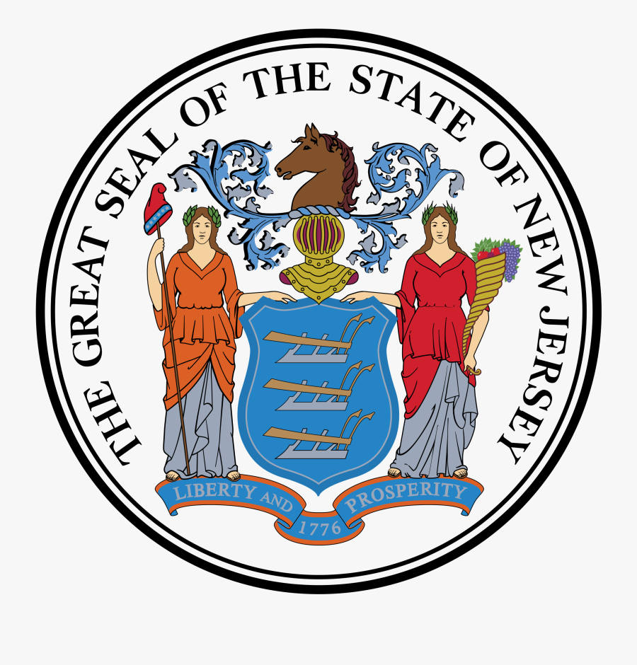 Seal Png - New Jersey Seal, Transparent Clipart