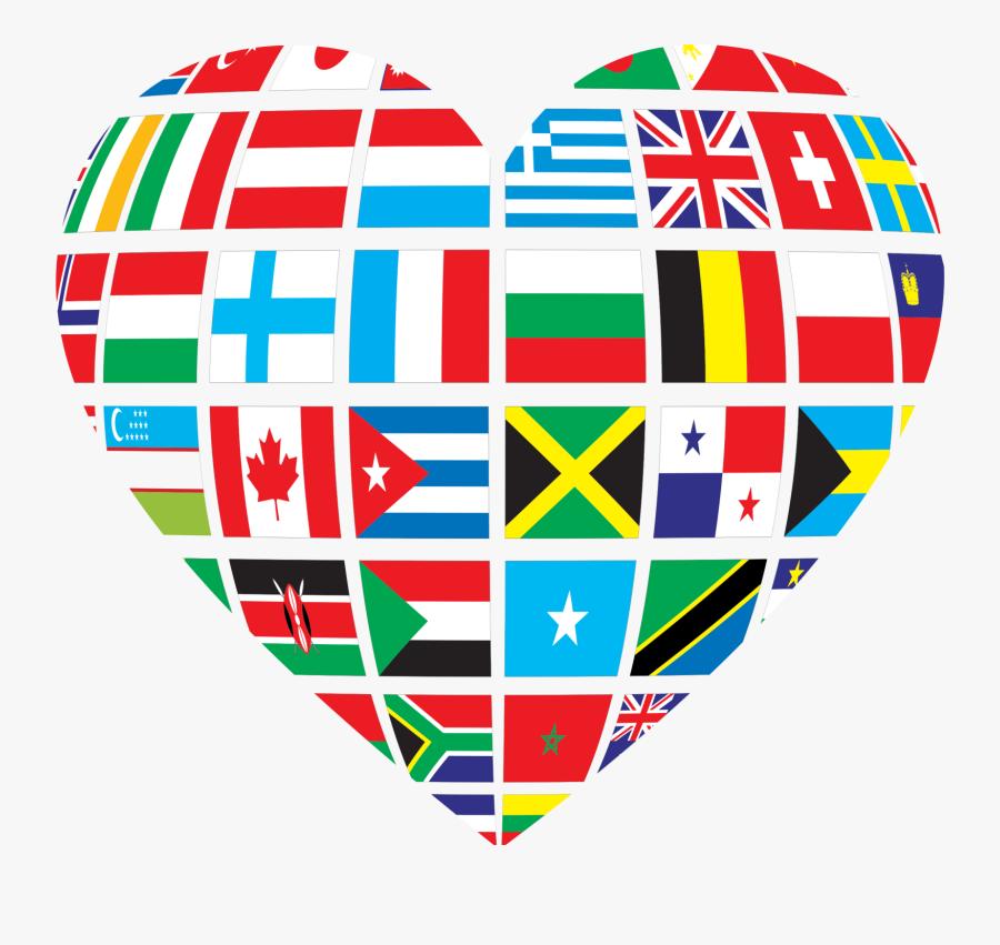 Transparent Celebrate Clipart - Clipart International Flag, Transparent Clipart