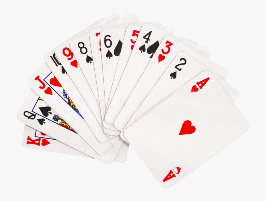 Fanned Playing Card Transparent - Playing Card Fan Transparent, Transparent Clipart