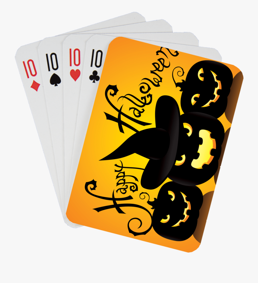 Stock Playing Card Deck - Card Game, Transparent Clipart