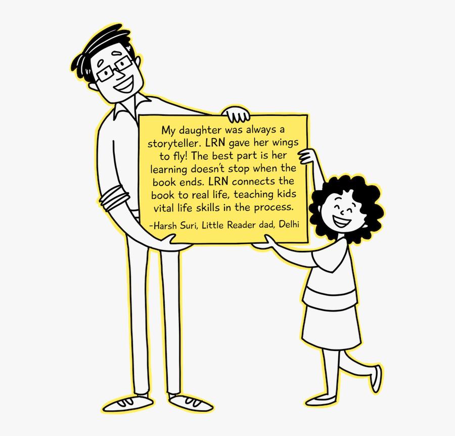 Harsh Suri, Daddy - Cartoon, Transparent Clipart