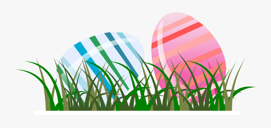 Easter Eggs Gras Transparent, Transparent Clipart