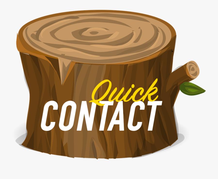 Lumberjack Clipart Tree Removal - Tree Stump, Transparent Clipart