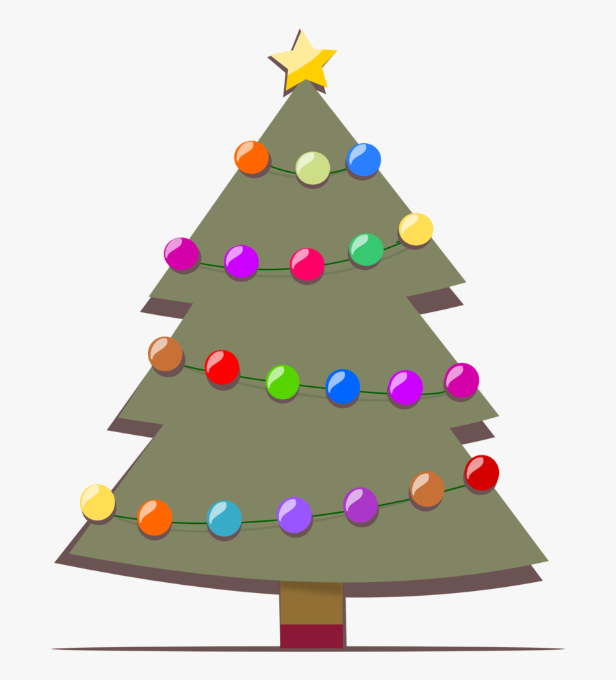Christmas Tree Images Download, Transparent Clipart