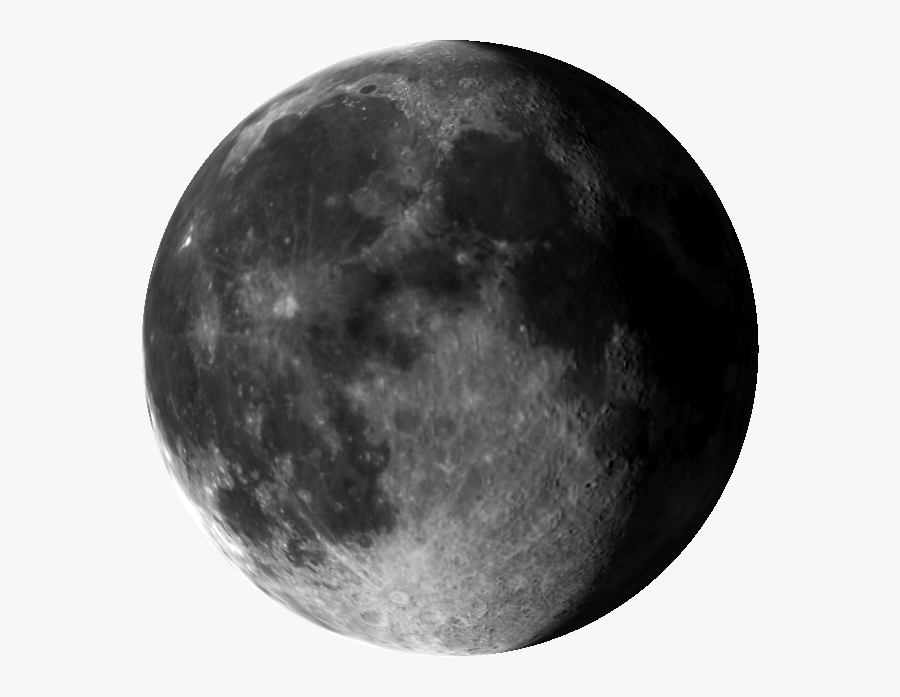 3d Earthu0027s Moon - Black Moon Png, Transparent Clipart
