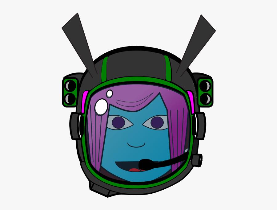 Girl Astronaut - Ground Control To Major Tom Sticker, Transparent Clipart