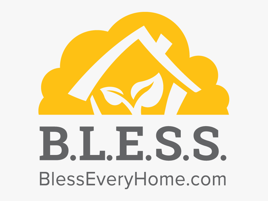 Bless Every Home, Transparent Clipart