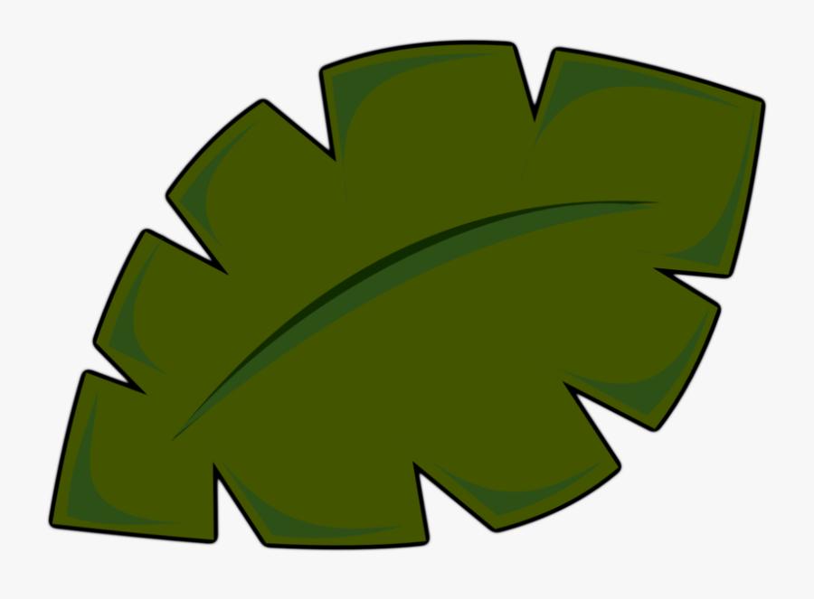 Palm Tree Leaf Clip Art, Transparent Clipart