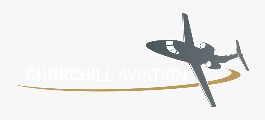 Services - Private Jet Plane Logo, Transparent Clipart