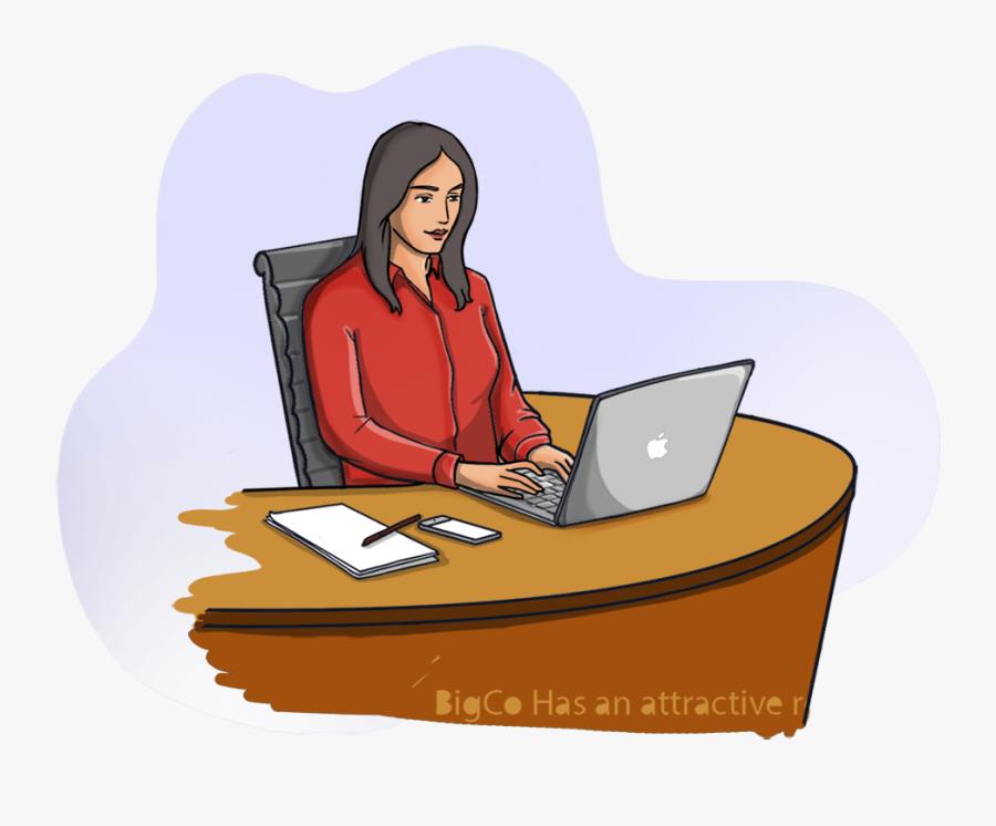 Job Clipart Female Job - Business Job Clipart, Transparent Clipart