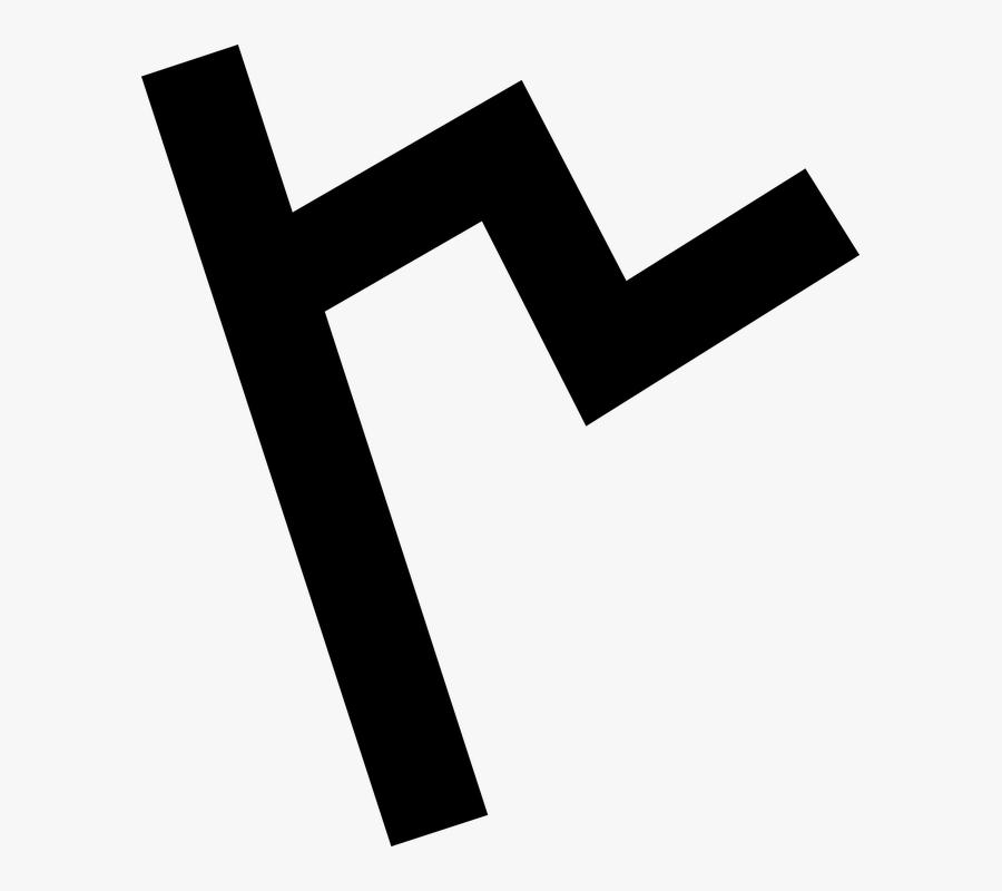 Phoenician Alphabet Letter C, Transparent Clipart