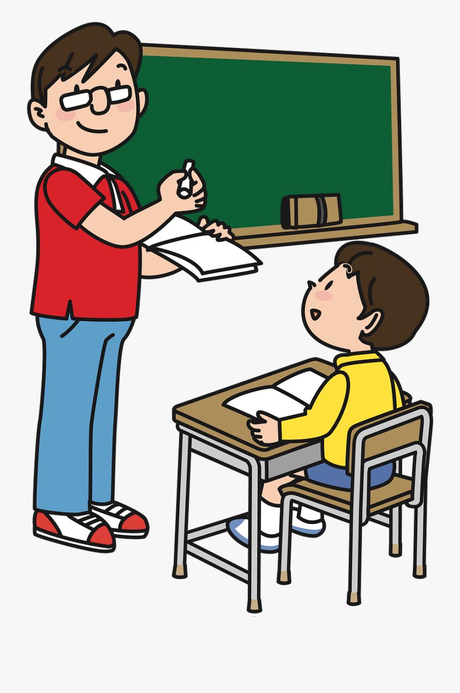 Man Teacher Clipart, Transparent Clipart